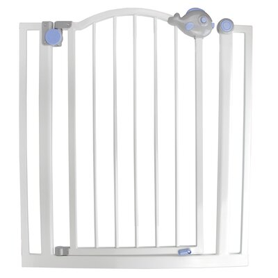 Pop-O-Fish Double Locking Safety Gate for Dogs and Children 32151296
