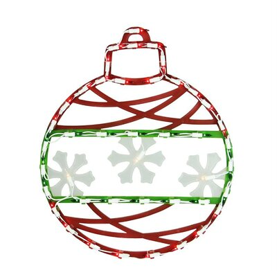 Lighted Christmas Ornament Window Silhouette Decoration