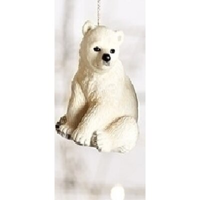 Wild Baby Polar Bear Decorative Christmas Ornament 31751540
