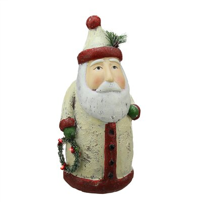 Battery Operated LED Lighted Santa Claus Christmas Table Top Decoration