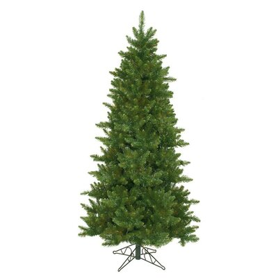 12' Green Pine Artificial Christmas Tree with Unlit Light with Stand