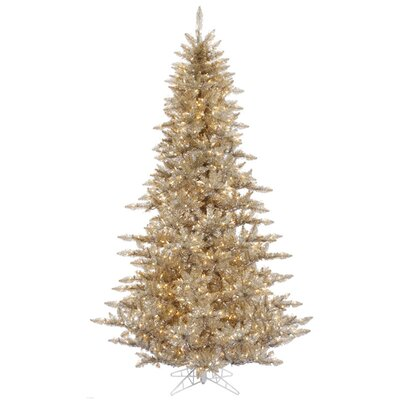 5.5' Champagne Fir Artificial Christmas Tree with 400 Clear Lights with Stand 31566899