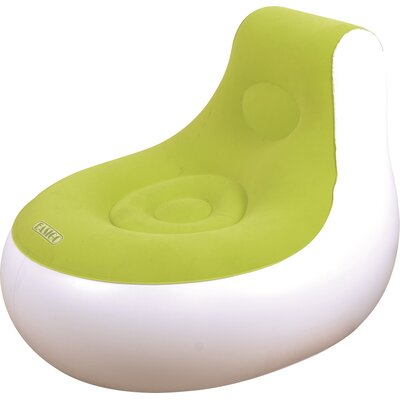 Inflatable Indoor/Outdoor Easigo Lounge Chair Upholstery: Green