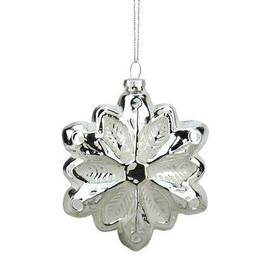 Glass Snowflake Christmas Ornament