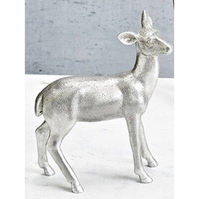 Vintage Doe Deer Decorative Christmas Table Top Figure
