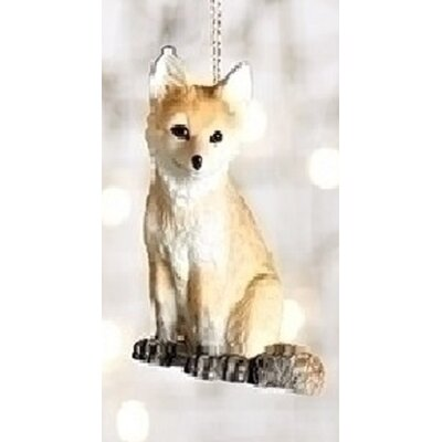 Wild Baby Fox Decorative Christmas Ornament