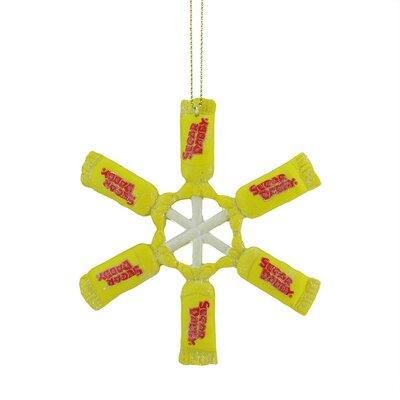 Candy Lane Tootsie Roll Sugar Daddy Orignal Milk Carmel Lollipop Snowflake Christmas Ornament