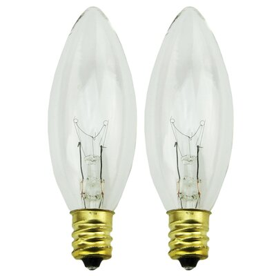 7W Candelabra Incandescent Light Bulb