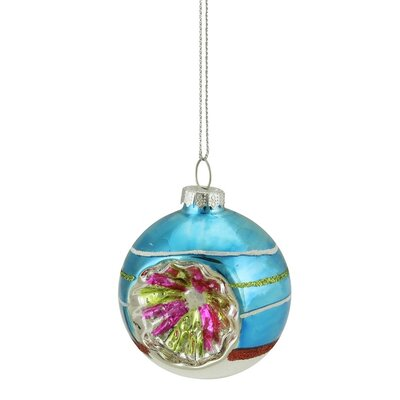 Glittered Witches Eye Glass Ball Ornament 31752230