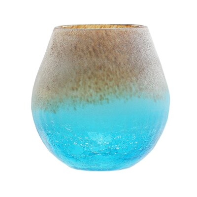 Frosted Hand Blown Glass Vase 31812281