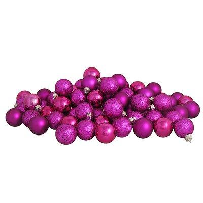 Christmas Ball Ornament Color: Light Magenta/Pink