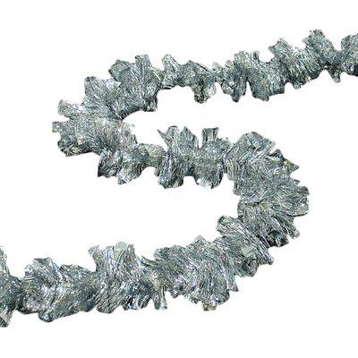 Holographic Boa Christmas Tinsel Garland Color: Shiny Silver