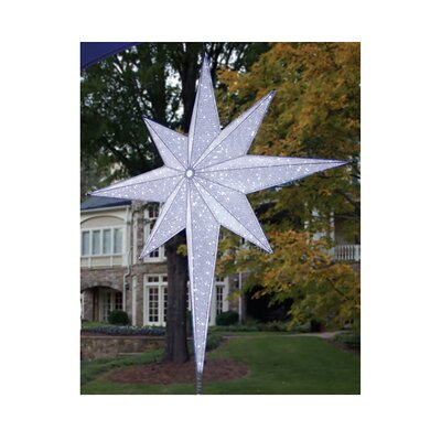 LED Lighted Moravian Star Commercial Christmas Tree Topper