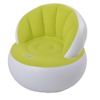 Inflatable Indoor/Outdoor Easigo Armchair Color: Green