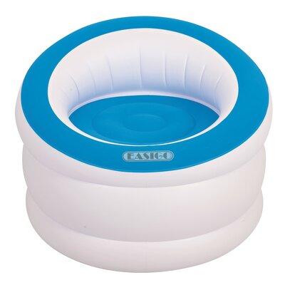 Indoor/Outdoor Inflatable Easigo Lounge Chair Color: Cyan Blue