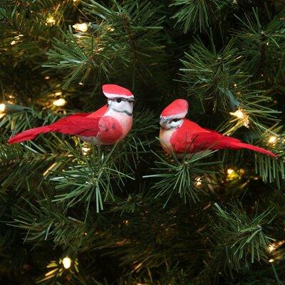 Ornate Elegance Bird Christmas Ornament