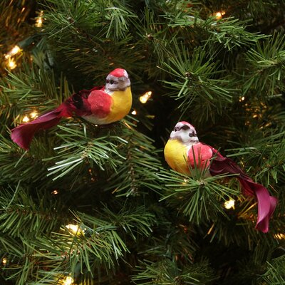 Graceful Elegance Bird Christmas Ornament