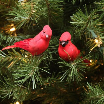 Cardinal Bird Christmas Ornament JA83816