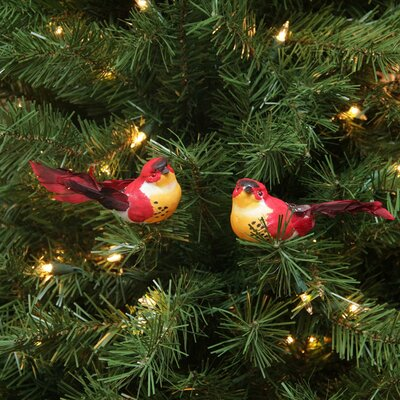 Spotted Bird Christmas Ornament