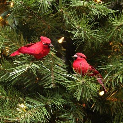 Crimson Bird Christmas Ornament JA83811