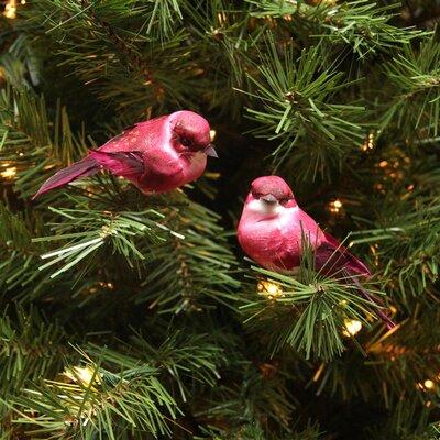 Mauve Bird Christmas Ornament JA83788