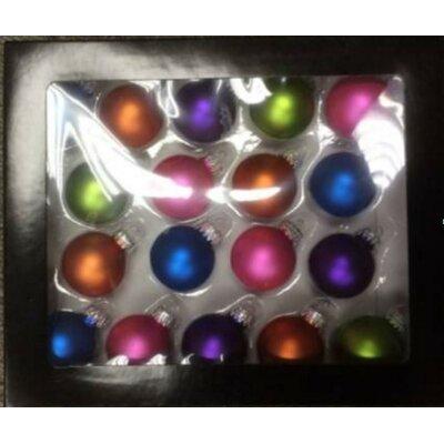 Bright Glass Christmas Ball Ornament THDA7619 43376977