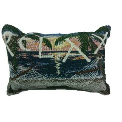 Robyn Sunset Sails Relax Hammock Decorative Tapestry Throw Pillow