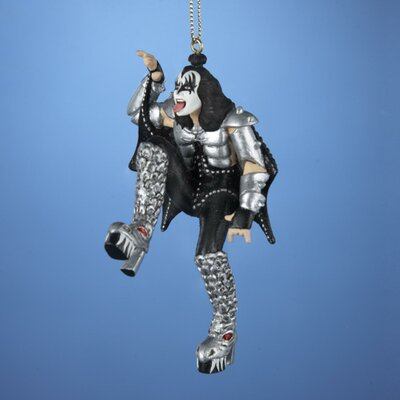 "4.5"" Kiss Demon Gene Simmons Posing Christmas Hanging Figurine KSA KS2131"