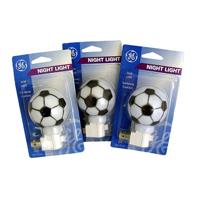 Soccer Ball Sports Decorative Night Light