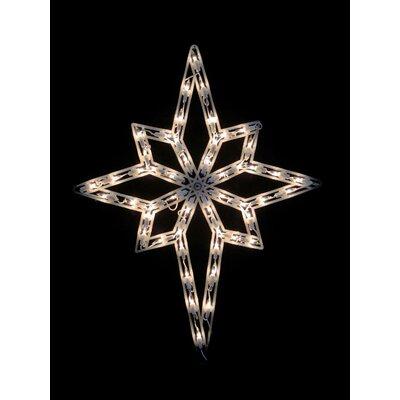 "18"" Star of Bethlehem Christmas Window Silhouette Decoration Lighted Display THDA7104 43374848"