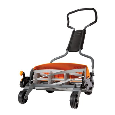 "Fiskars 18"" StaySharp Max Push Reel Lawn Mower at Sears.com"