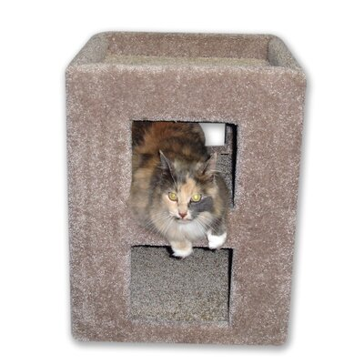 Irene 21 Fat Cat Kitty Cube Cat Condo
