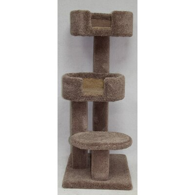 48 Kitty Cuddle Tower Cat Tree