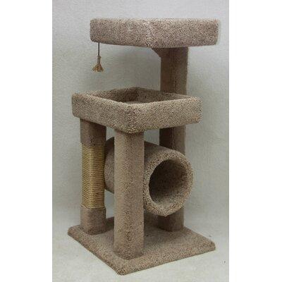 "48"" Deluxe Kitty Suite Cat Condo"