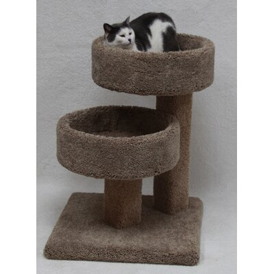 Harpe 28 Double Stacker Cat Condo