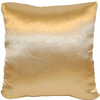 Domino Throw Pillow Color: Gold