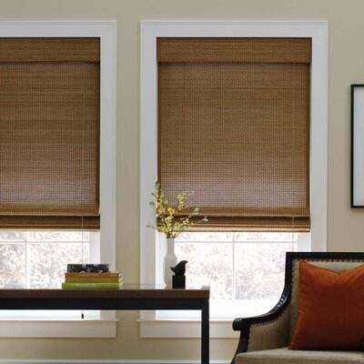 Sand Natural Bamboo Roman Shade Blind Size: 41 W x 72 L