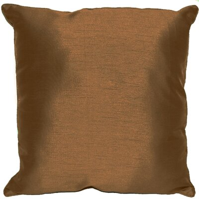 Kiera Square Throw Pillow Color: Copper