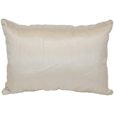 Kiera Throw Pillow Color: Silver