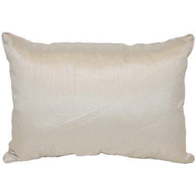 Kiera Throw Pillow Color: Silver