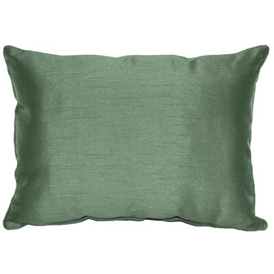 Kiera Throw Pillow Color: Forest Green