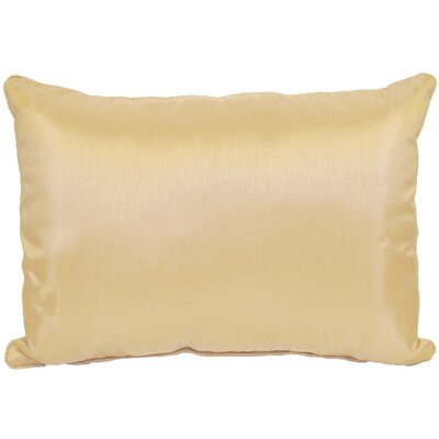 Kiera Lumbar Throw Pillow Color: Peach