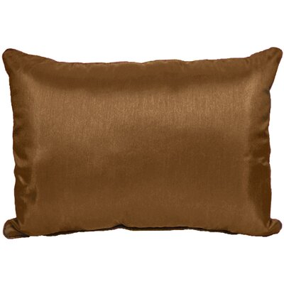 Kiera Throw Pillow Color: Copper