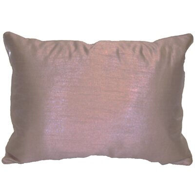 Kiera Lumbar Throw Pillow Color: Plum