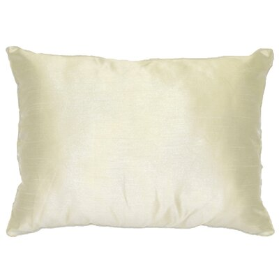 Kiera Lumbar Throw Pillow Color: Ivory