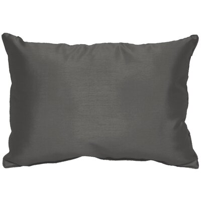 Kiera Throw Pillow Color: Dark Gray