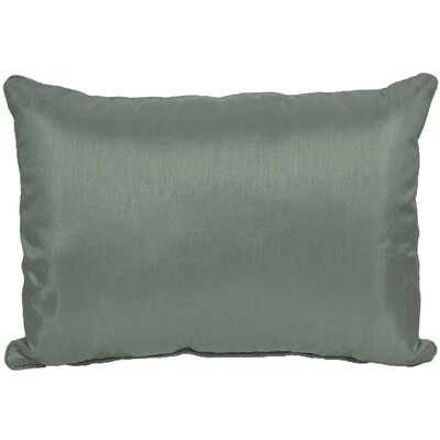 Kiera Lumbar Throw Pillow Color: Steel Gray