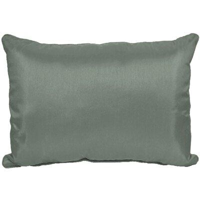 Kiera Throw Pillow Color: Steel Gray