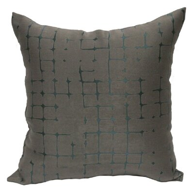 Butcombe Throw Pillow Color: Silver