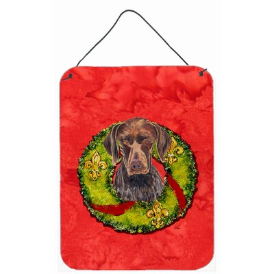 German Shorthaired Pointer Painting Print Plaque